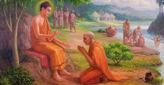 佛陀和弟子们