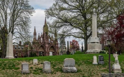 美国纽约绿木公墓