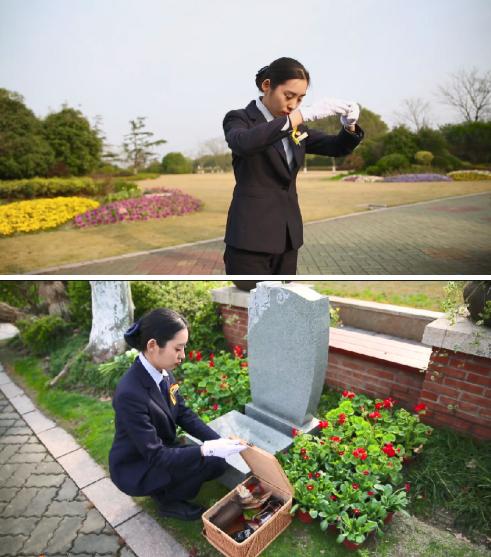 公墓提供鲜花代祭服务
